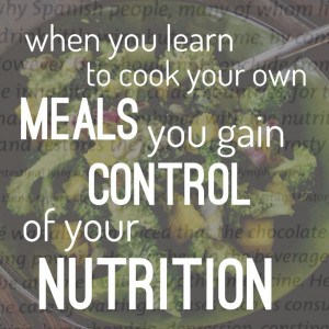 control your nutrition