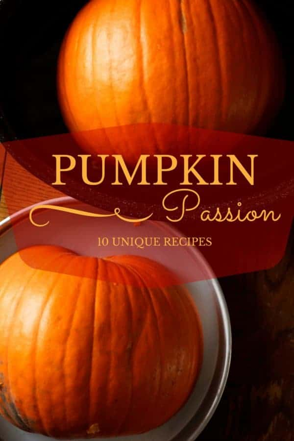 10 pumpkin recipes