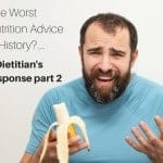 the worst nutrition advice in history?