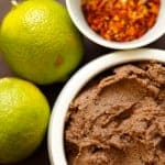 Black Bean Dip: Whip this vegan and gluten free dip up in your blender or food processor for a tasty dip for veggies or tortilla chips!