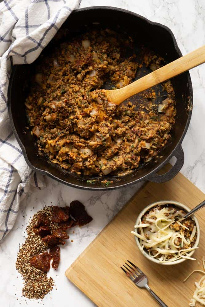Mediterranean Lentils and Quinoa