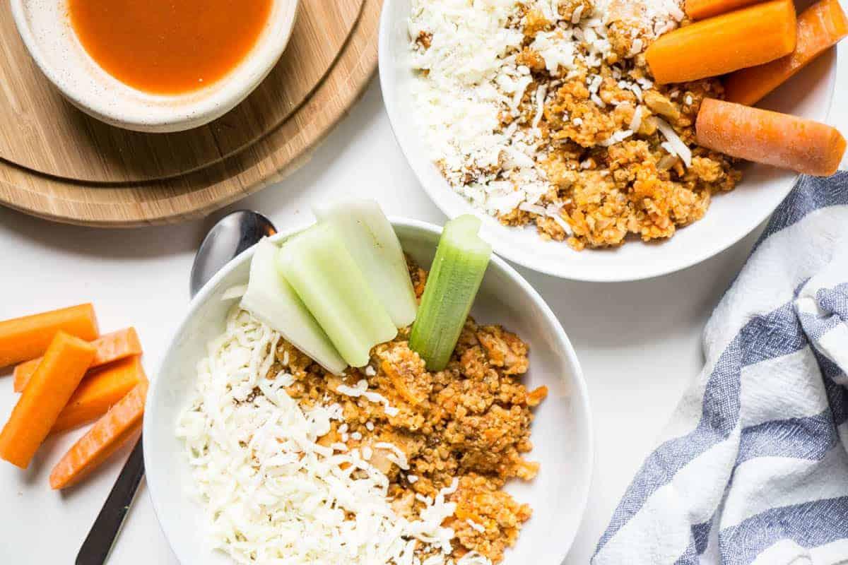Instant Pot Buffalo Chicken Quinoa