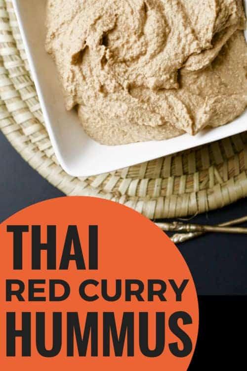 Thai Red Curry Hummus