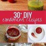 30 DIY condiment recipes