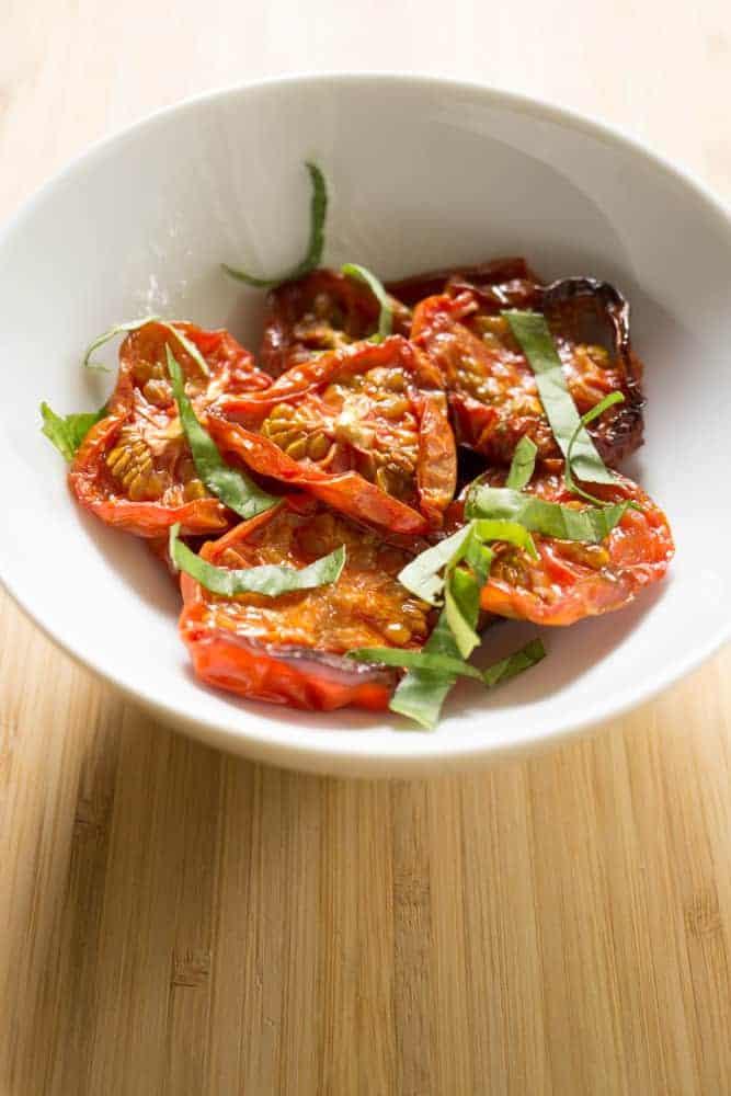 maple roasted tomatoes