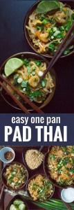 Easy One Pan Pad Thai