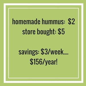homemade vs bought hummus
