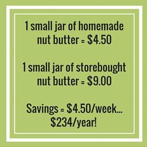 homemade vs bought nut butter