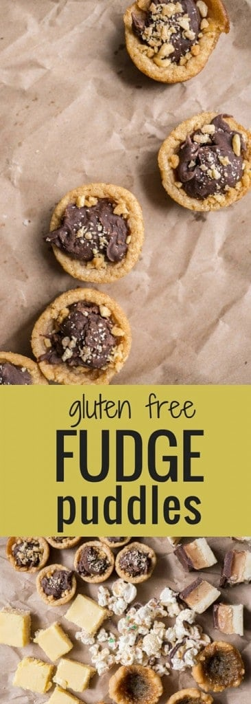 Fudge Puddles (gluten free)