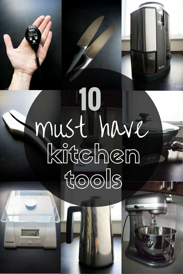 10 Must Have Kitchen Tools