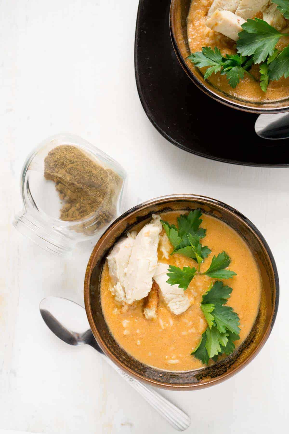 Butter Chicken Soup