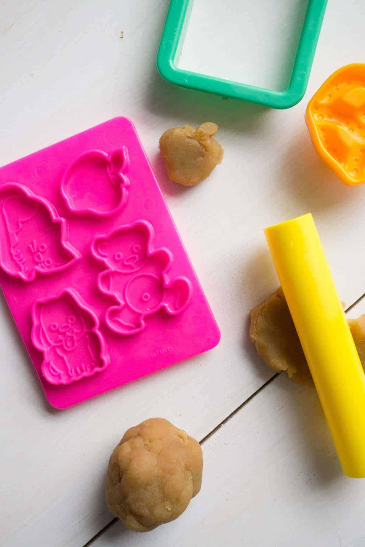 Healthy Edible Play Doh