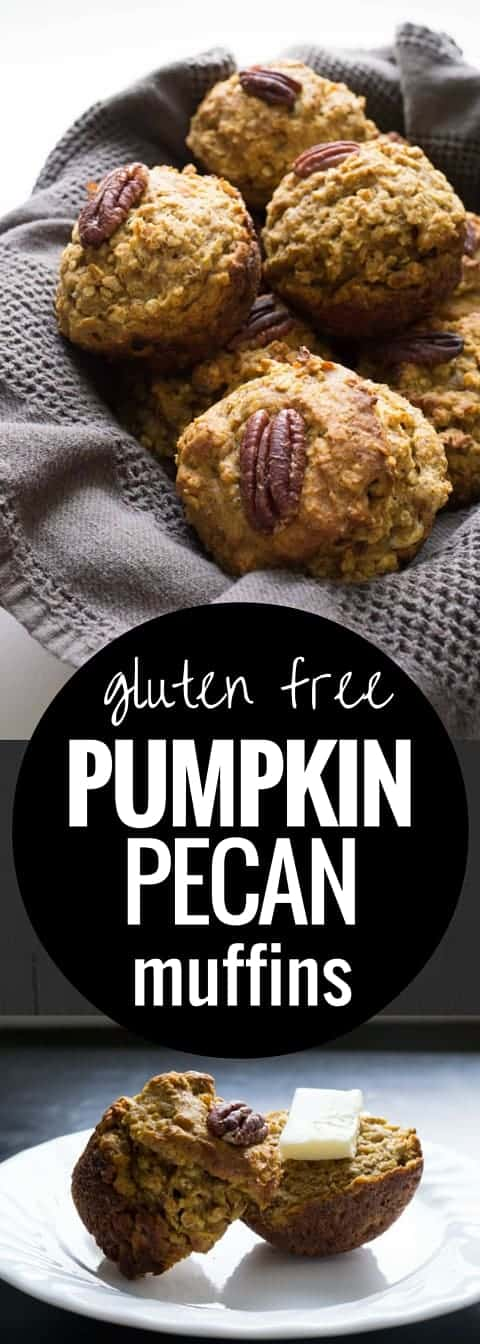 Pumpkin Pecan Muffins (gluten free)