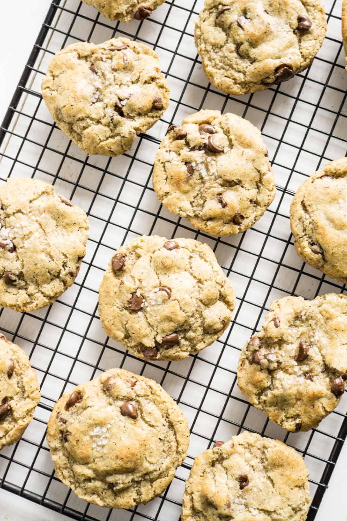 Repurpose Halloween candy to make Chocolate Chip Cookies
