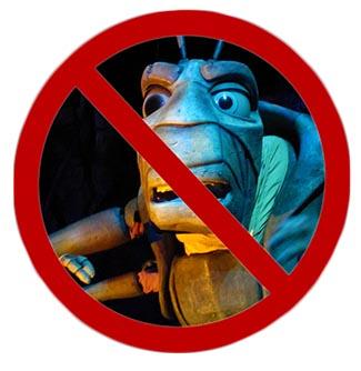 Disney's tough to be a bug