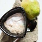 Pear, Yogurt, Psyllium