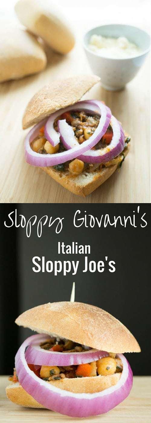 Sloppy Giovanni's (Italian Sloppy Joe's)