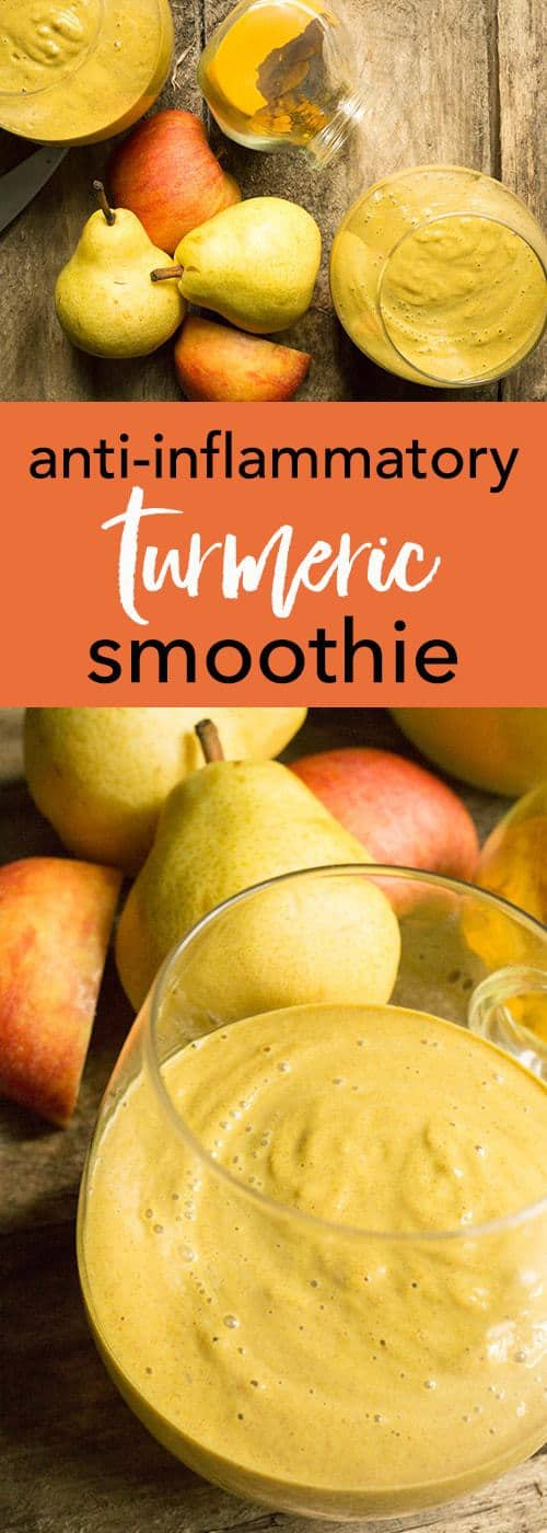 Anti-inflammatory turmeric smoothie