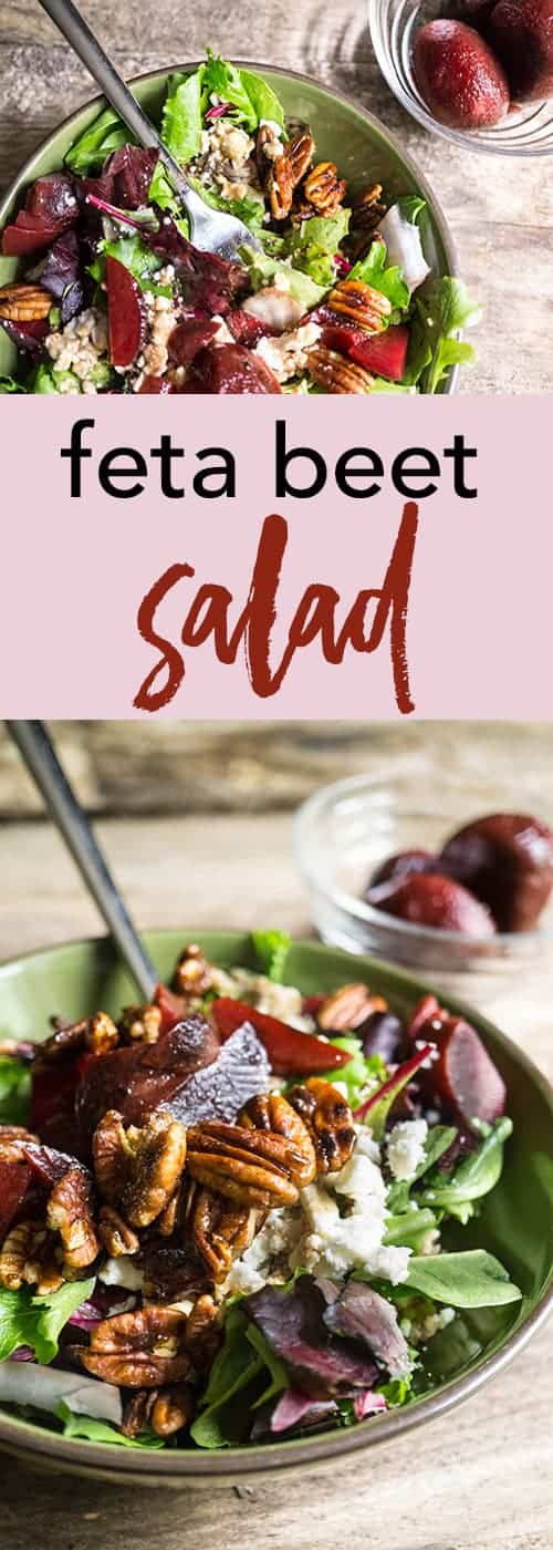 feta beet salad - Smart Nutrition