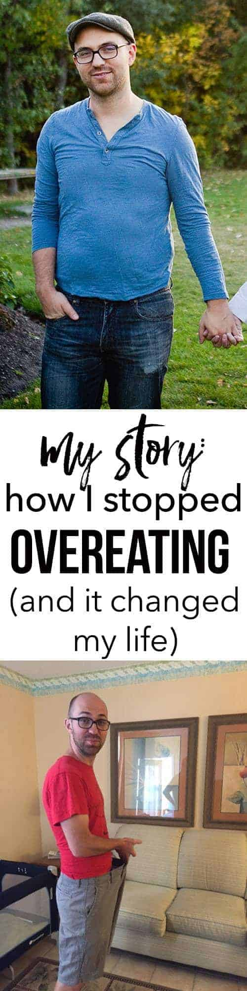 Jeremy My story how I stopped overeating