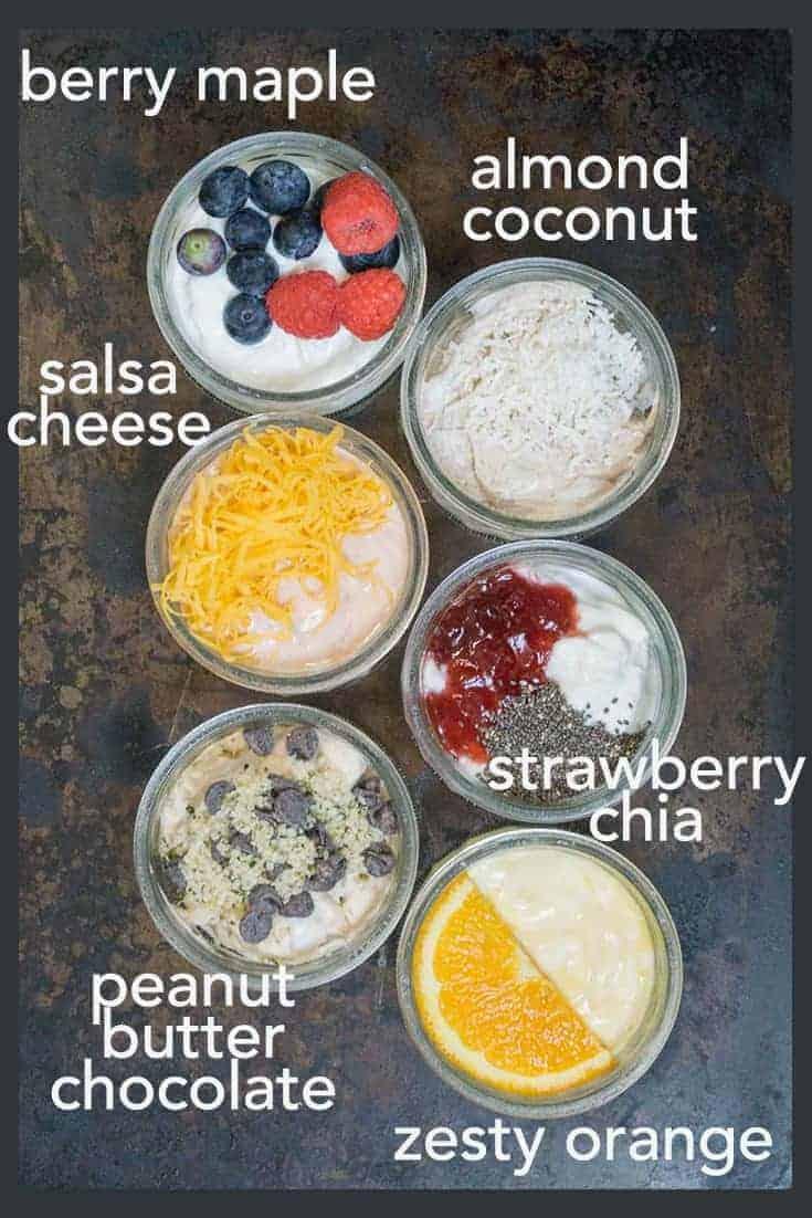 6 ways to flavour plain yogurt