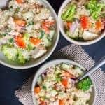 Greek Chicken Quinoa Salad