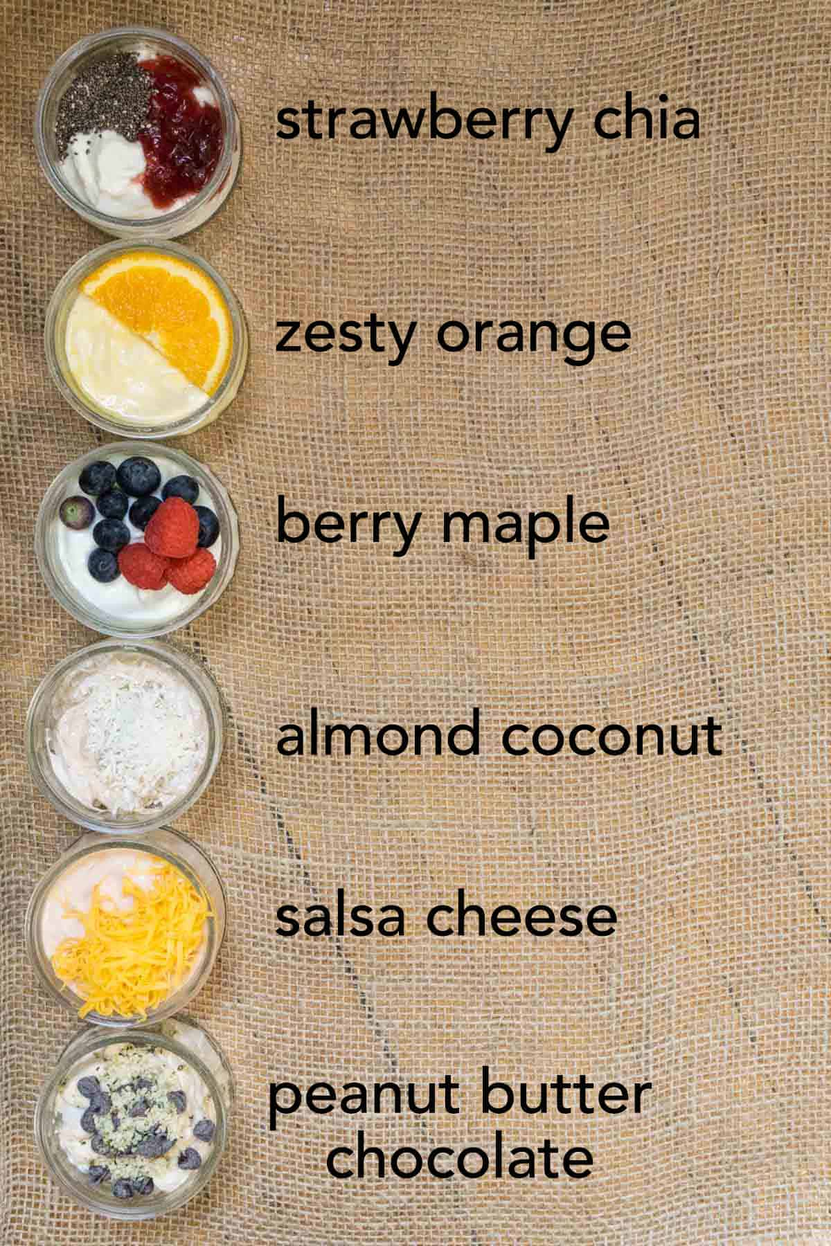 Try these 6 ways to flavour plain yogurt