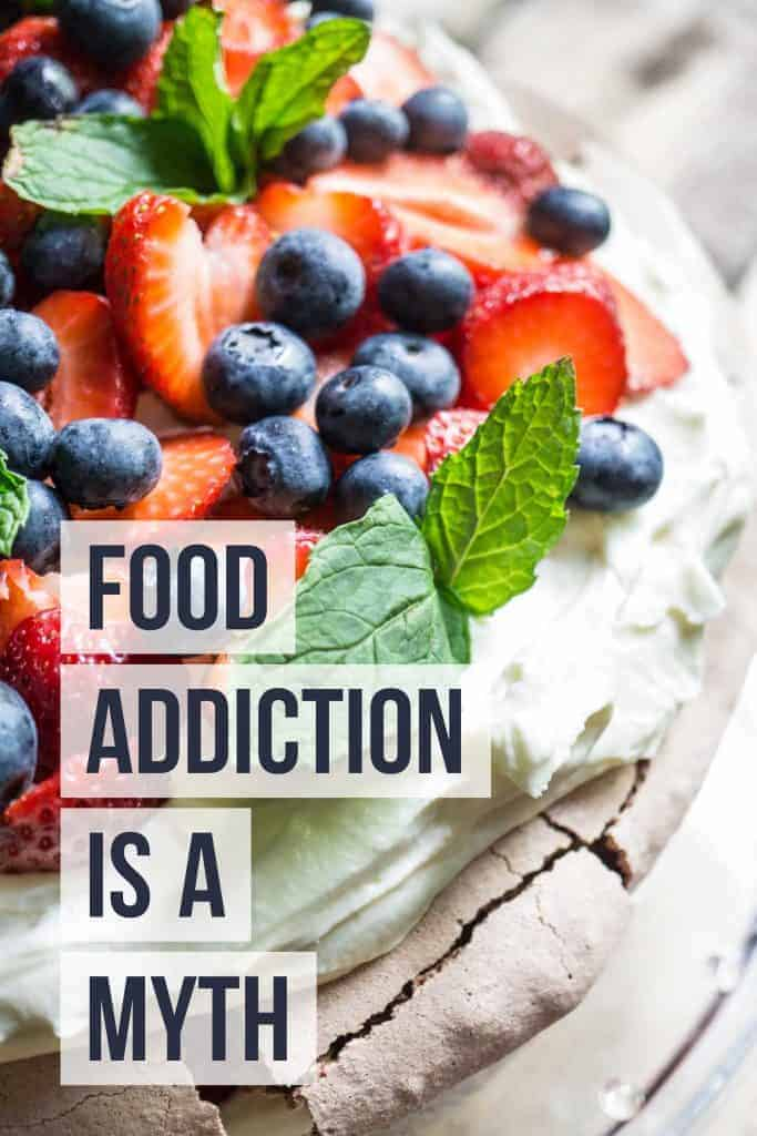 food addiction is a myth