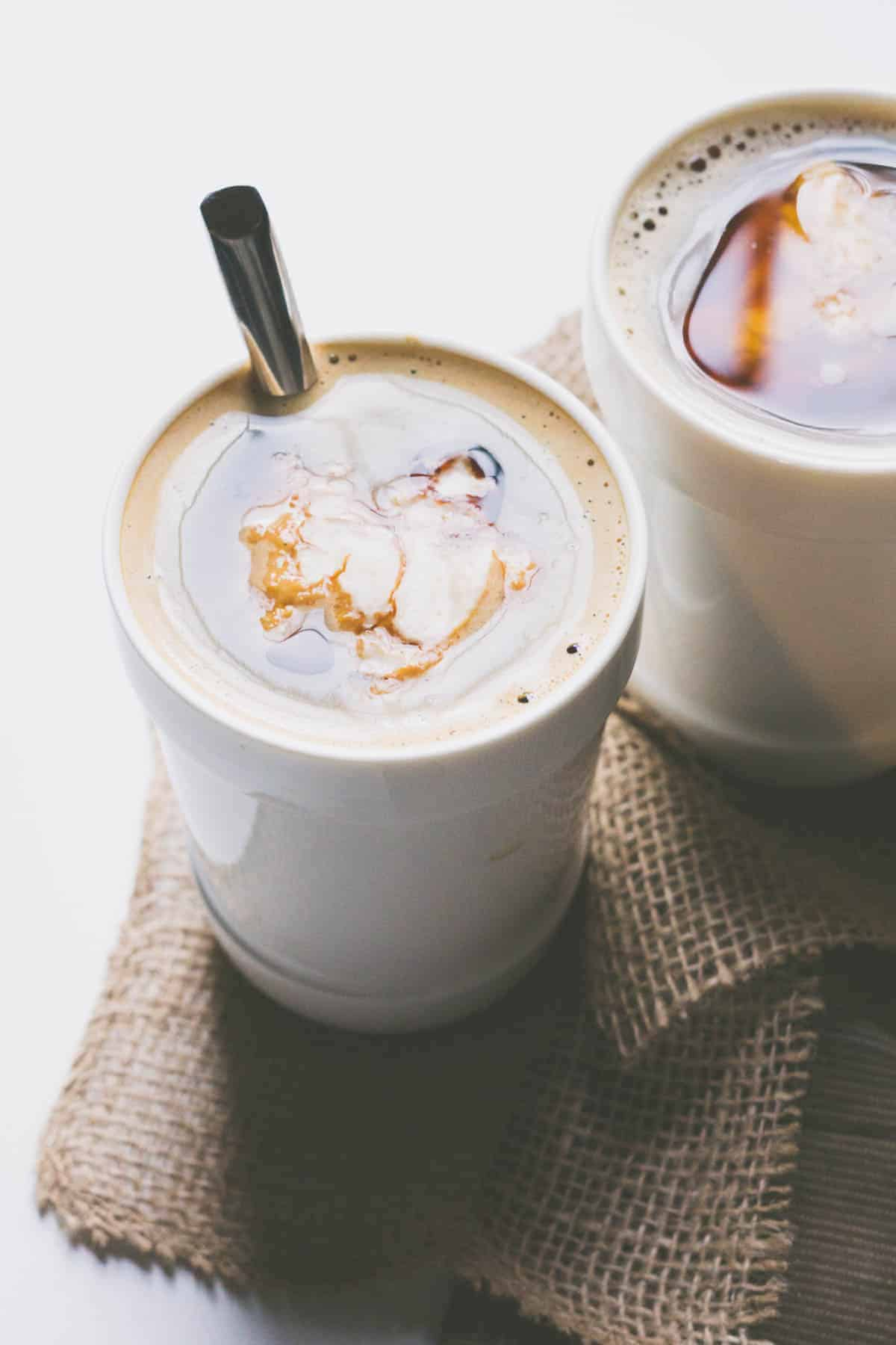 maple oatmeal latte - Smart Nutrition with Jessica Penner, RD