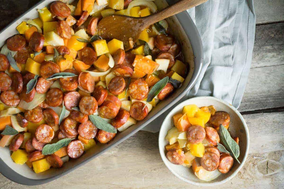 sausage-squash-apple-bake