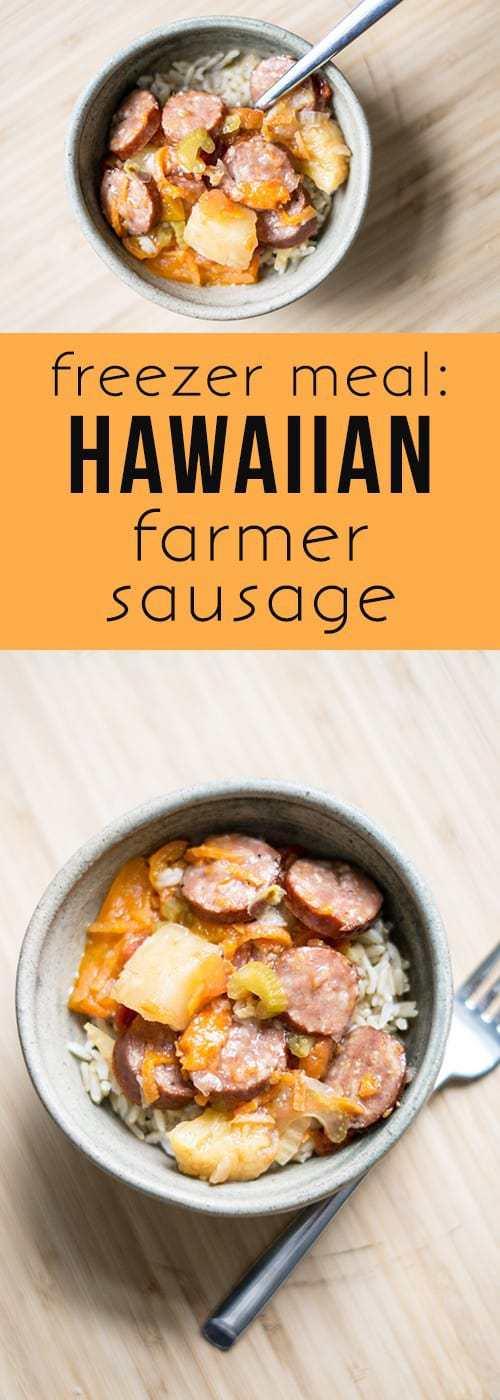 hawaiian farmer sausage