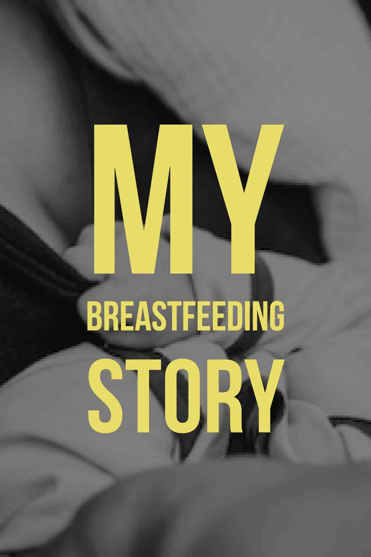 A Dietitian's breastfeeding story