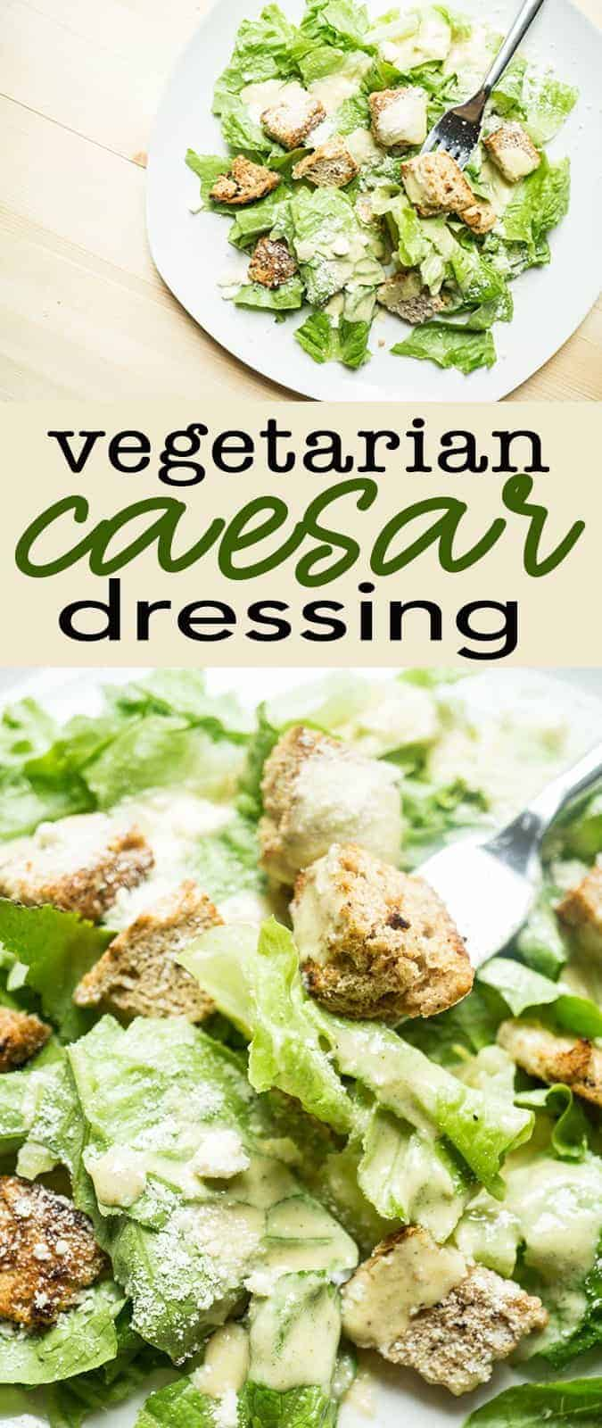 vegetarian caesar dressing blender recipe