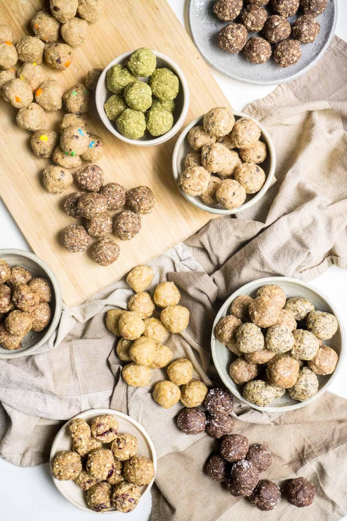 energy balls 15 varieties