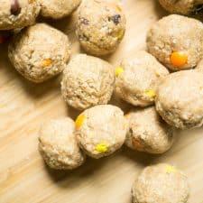 energy balls reese's pieces