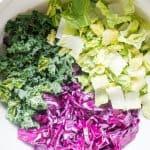 DIY healthy salad mix