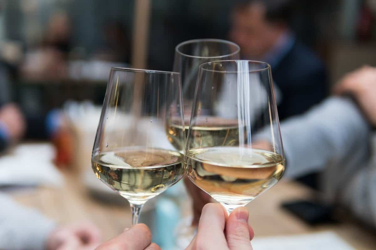 A glass of wine with a meal is correlated with health on the Mediterranean Diet