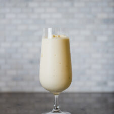 pina colada smoothies. Photography by Gabrielle Touchette