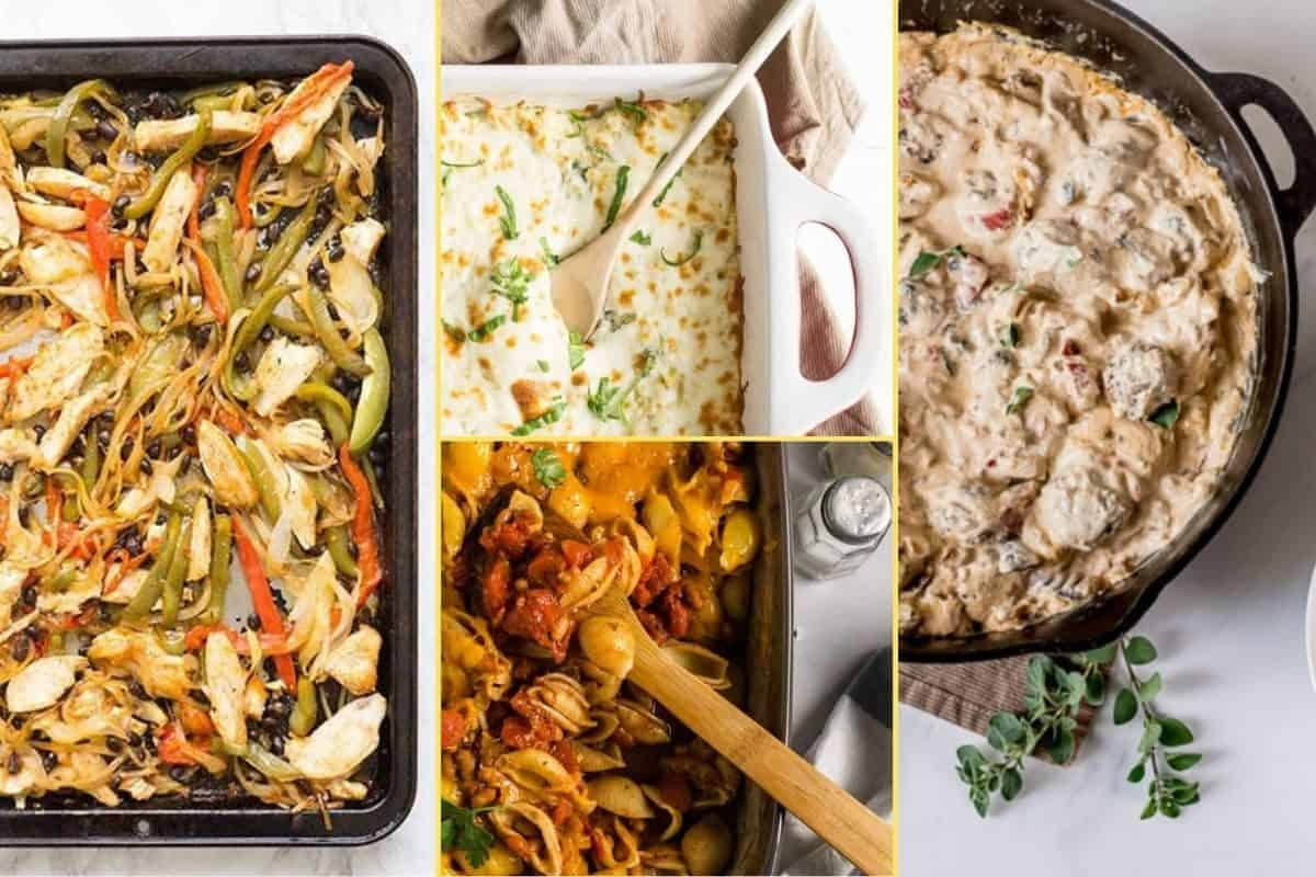 a Collage of photos for the supper club meal plan number 13