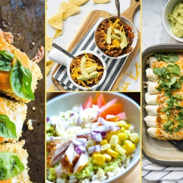 a Collage of photos for the supper club meal plan number 21