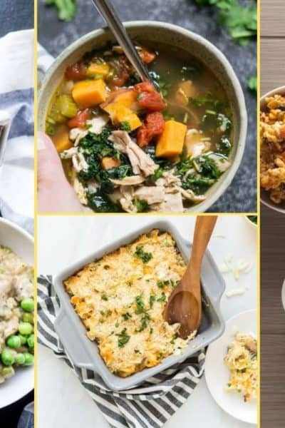 a Collage of photos for the supper club meal plan number 23