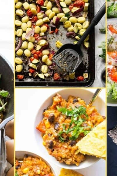 a Collage of photos for the supper club meal plan number 24